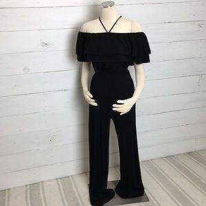 The Aryes Off-the-Shoulder Jumpsuit